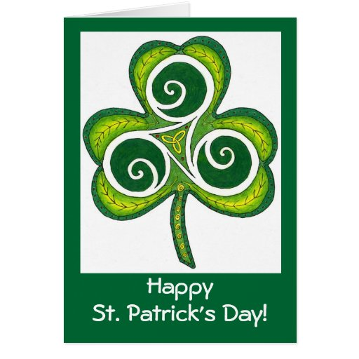 Happy St. Patrick's Day! Cards