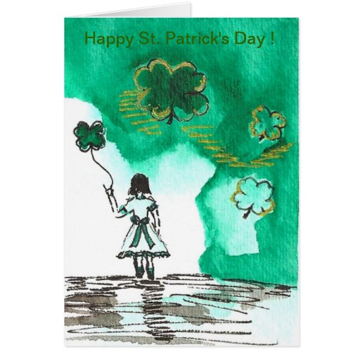 Happy St. Patrick's Day ! Greeting Card