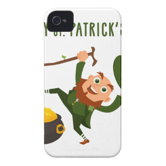Happy St. Patrick's Day Case-Mate iPhone 4 Case