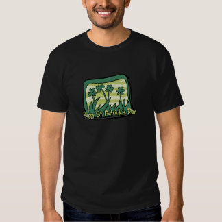 Happy St. Patrick's Day Clovers T Shirts