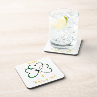 Happy St. Patrick's Day Coaster