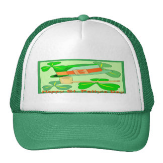 Happy St Patrick's Day Collage Trucker Hat