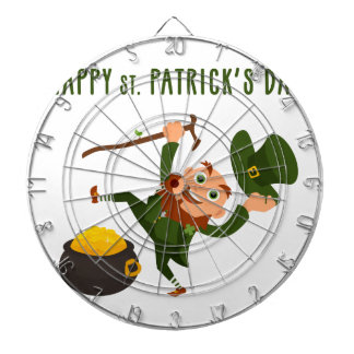 Happy St. Patrick's Day Dart Board