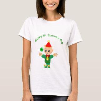 Happy St. Patrick's Day Elf T-Shirt