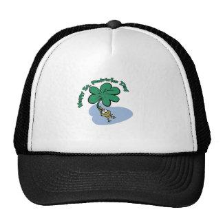 Happy St. Patrick's Day Frog design Trucker Hat