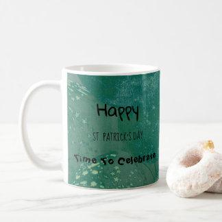 Happy St. Patrick's Day Green Balloons Coffee Mug