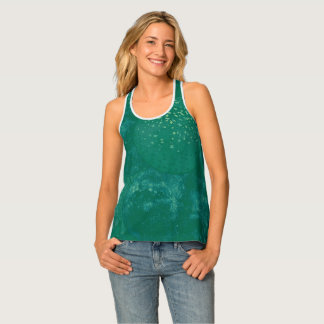 Happy St. Patrick's Day Green Balloons Tank Top