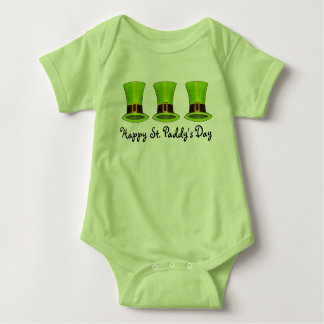 Happy St. Patrick's Day Green Leprechaun Top Hats