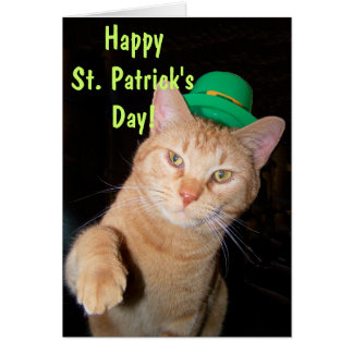 Happy St. Patrick's Day Greeting Card