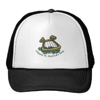 Happy St. Patrick's Day Harp Hat