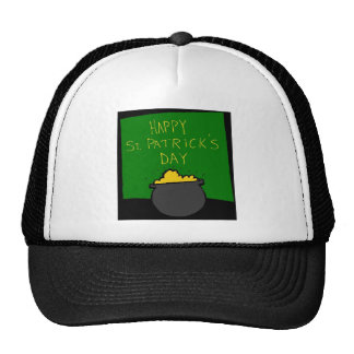 Happy St. Patrick's Day Trucker Hats