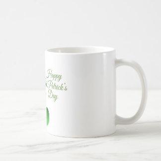 Happy St Patrick's day, holiday Irish hat saint Coffee Mug