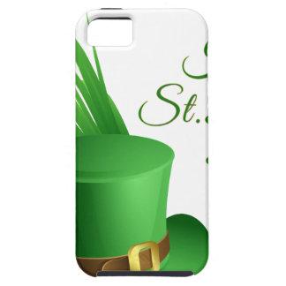 Happy St Patrick's day, holiday Irish hat saint iPhone 5 Case