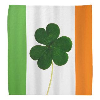 Happy St. Patrick's Day Irish Flag Shamrock Clover Bandana