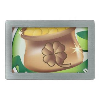 Happy St Patrick's day, Irish Saint Hat Holiday Belt Buckle