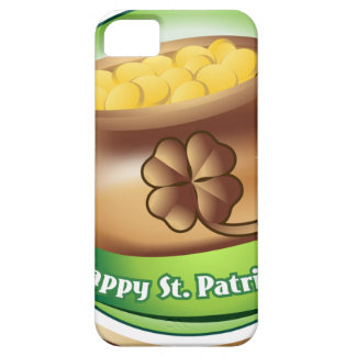 Happy St Patrick's day, Irish Saint Hat Holiday iPhone 5 Covers