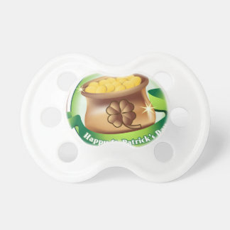 Happy St Patrick's day, Irish Saint Hat Holiday Pacifier