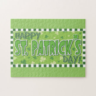 Happy St. Patrick's Day Jigsaw Puzzle