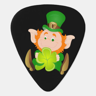 Happy St. Patrick's Day leprechaun Guitar Pick