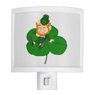 Happy St. Patrick's Day Leprechaun Night Light