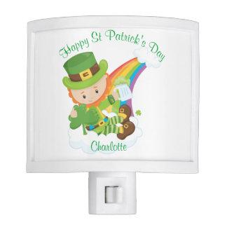 Happy St Patrick's Day Leprechaun Nite Lite