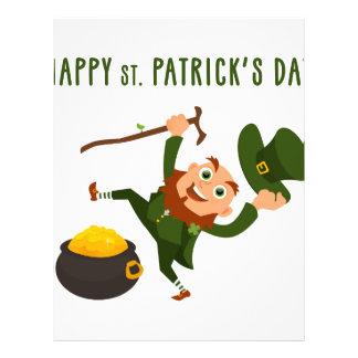 Happy St. Patrick's Day Letterhead