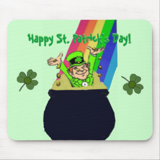 Happy St. Patrick's Day Mousepad
