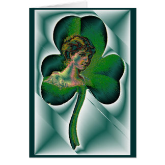 Happy St. Patrick's Day! Note Card