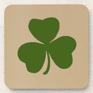 Happy St. Patrick's day - Patron Saint of Ireland Beverage Coaster