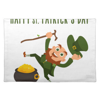 Happy St. Patrick's Day Placemat