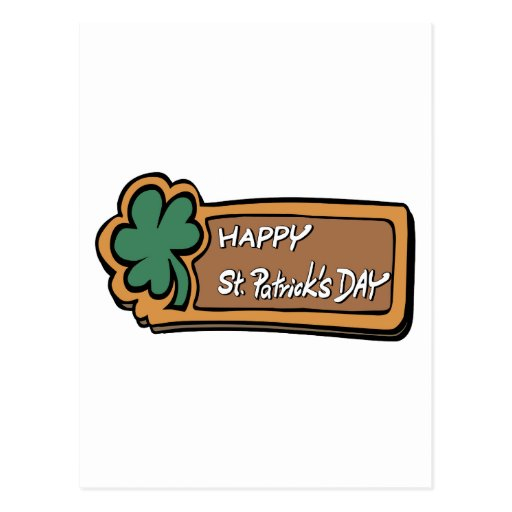 Happy St. Patricks Day Postcards