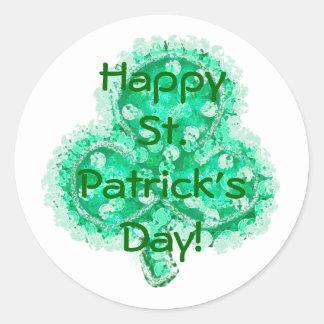 Happy St. Patrick's Day! Stickers