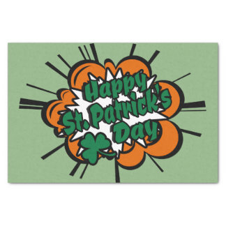 Happy St. Patrick's Day Tissue Paper