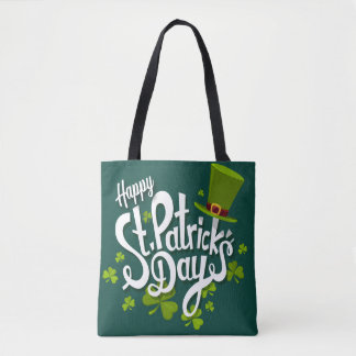 Happy St. Patrick's Day Tote Bag