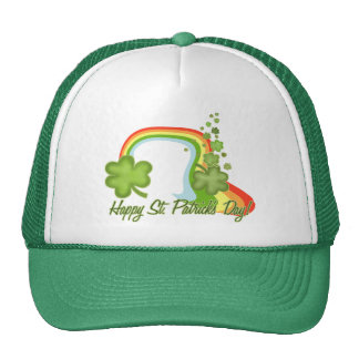 Happy St Patricks Day Trucker Hat