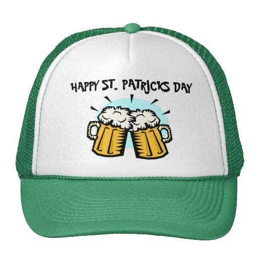 HAPPY ST. PATRICKS DAY TRUCKER HAT