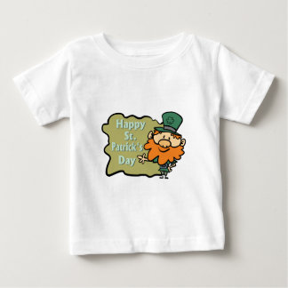 Happy St. Patrick's Leprechaun Baby T-Shirt