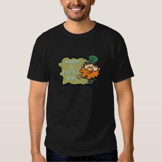 Happy St. Patrick's Leprechaun T Shirts