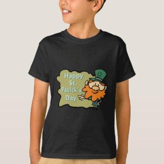 Happy St. Patrick's Leprechaun Tee Shirt