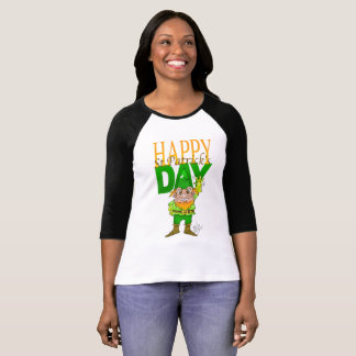 Happy St.Patrict's day, shirt for woman.