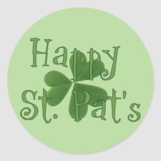 Happy St. Pat's Day Sticker