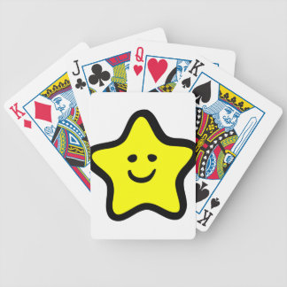 Happy Star Bicycle Playing Cards