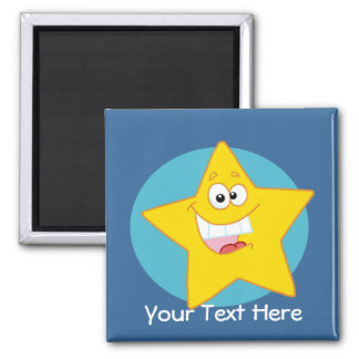 Happy Star (Customizable) Magnet