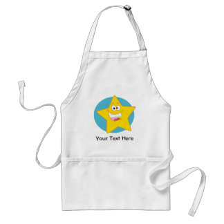 Happy Star (Customizable) Standard Apron