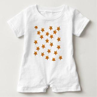 Happy stars baby romper