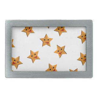 Happy stars belt buckle
