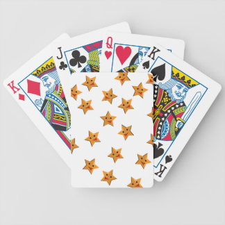 Happy stars bicycle playing cards