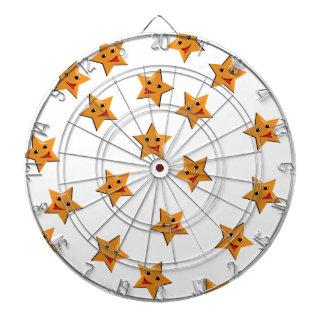 Happy stars dartboard