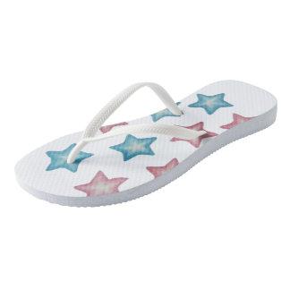 Happy Stars Flip Flops