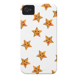 Happy stars iPhone 4 covers